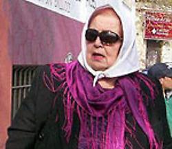 Nelva Méndez de Falcone - fundadora del movimiento Madres de Plaza de Mayo en Argentina