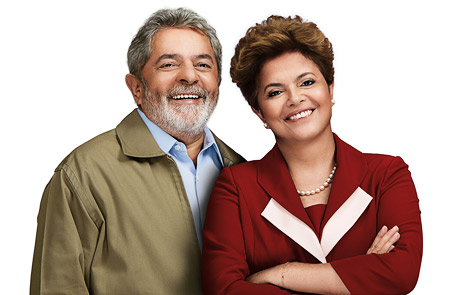Lula and Dilma (Photo: www.dilma13.com.br)