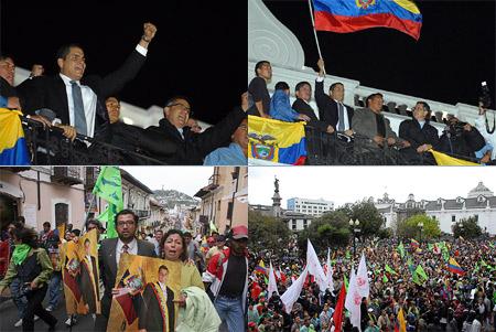 Эквадор, переворот