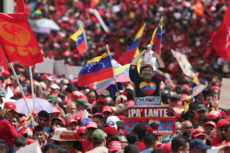 U.S. intelligence agencies are preparing for the developing crisis in Venezuela