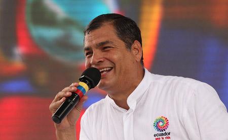 Рафаэль Корреа – политический наследник Уго Чавеса.