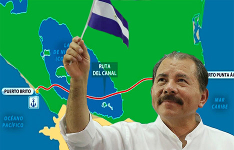 Daniel Ortega Keen to Complete Grand Canal of Nicaragua