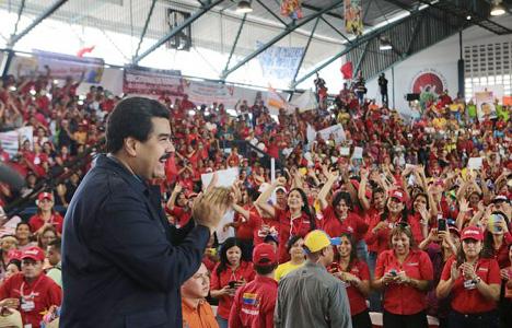 Обама провоцирует кровопролитие в Венесуэле.