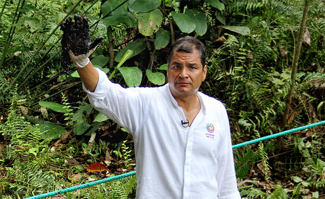 CIA and Chevron against President of Ecuador