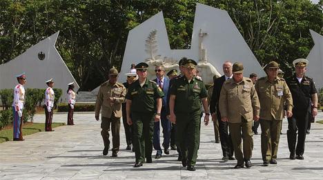 Министр обороны России в «карибском треугольнике».