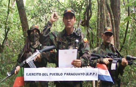 Герилья Армии парагвайского народа.
