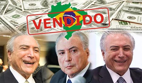 «Мягкий» переворот в Бразилии: распродажа страны начинается.