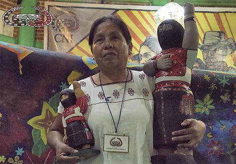 В Мексике индейская женщина стала кандидатом в президенты.
