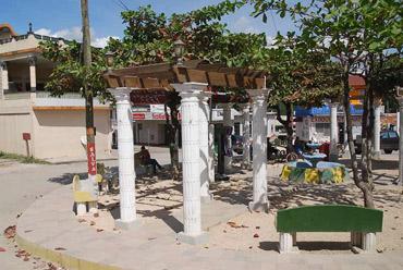 Городской парк сельского масштаба столицы страны Бельмопана