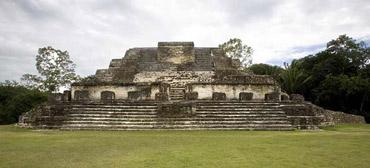 Город майя Алтун-ха