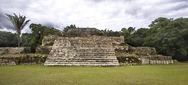 город майя Ламанаи