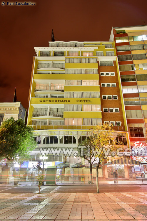 hotel copacabana bolivia: