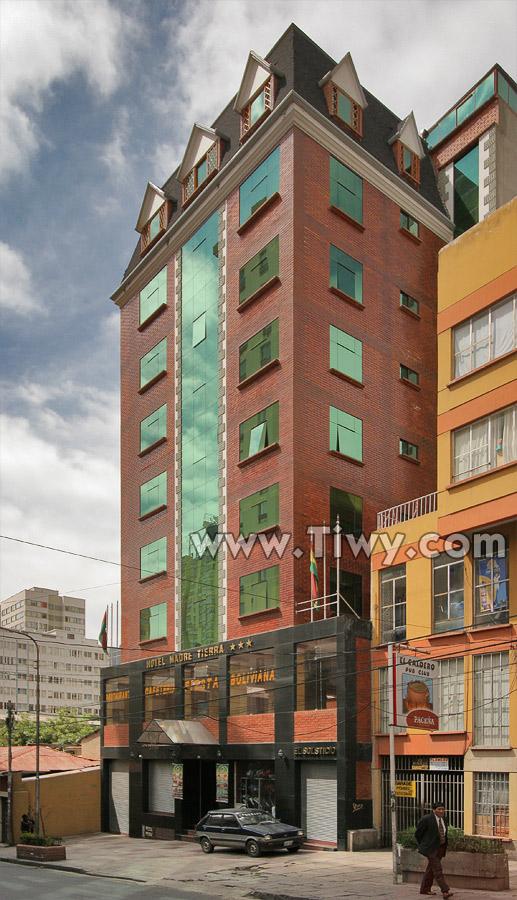 Hotel madre tierra la paz bolivia for Apart hotel a la maison la paz bolivia