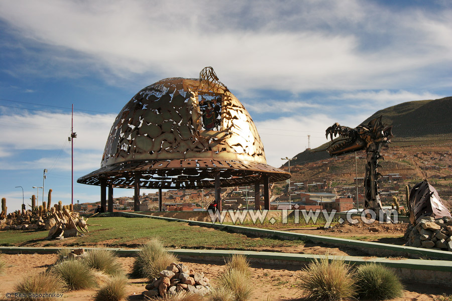 Paises > Bolivia > Oruro > Monumento Casco de Minero > Monumento ...