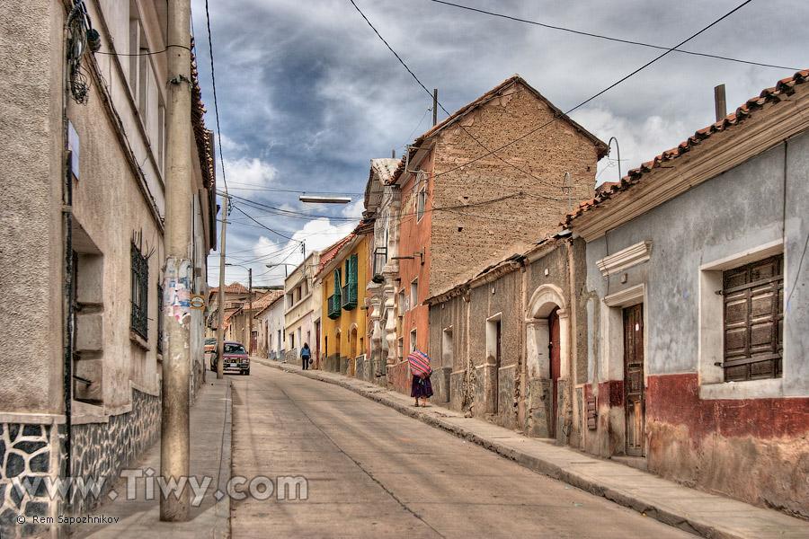 calle chuquisaca potos bolivia