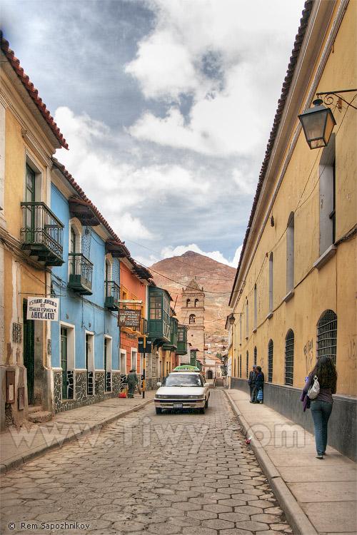 calle tarija potos bolivia