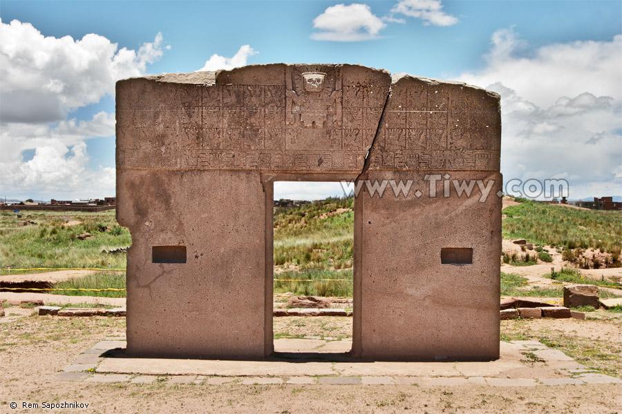 La puerta del sol tiwanaku bolivia for Las puertas del sol