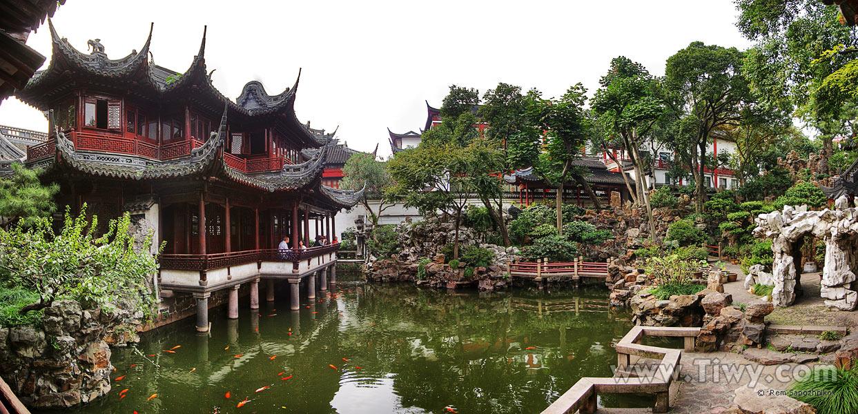 Yu Yuan Garden And Old Quarter 2008 Hello China