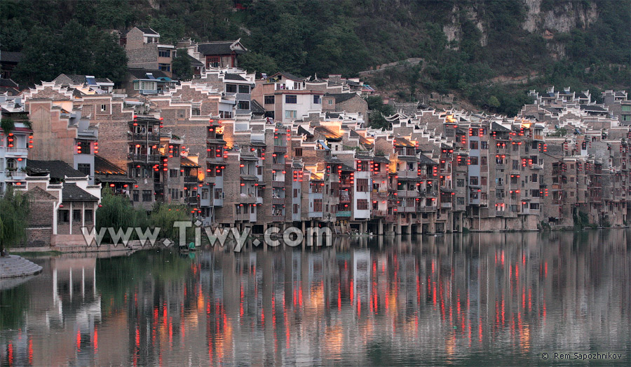 Zhenyuan (Guizhou) China  City new picture : Zhenyuan, Guizhou Province 2011 Travel to the Southwest China