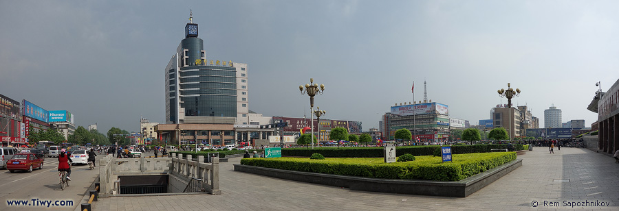 Pingliang China  city photos : pingyang square 平阳广场 píngyáng guǎngchǎng pingyang is the ...