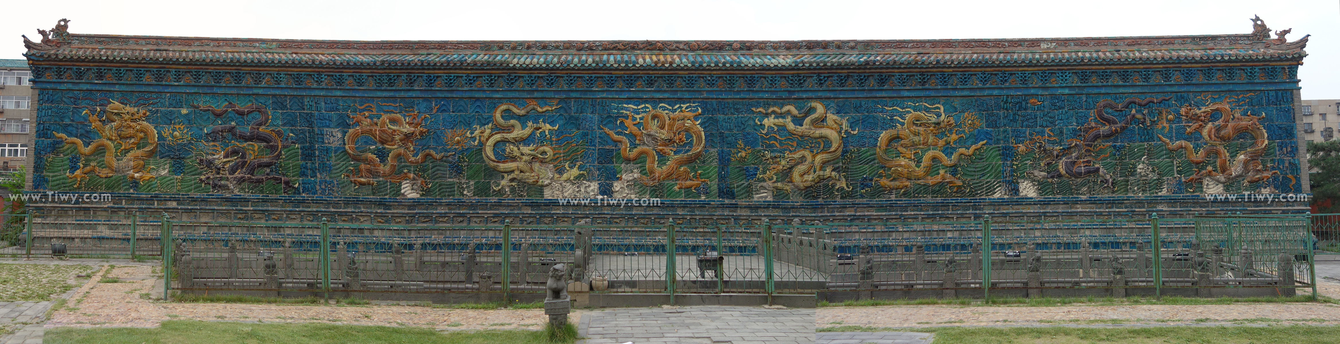 Nine Dragon Wall: Inside The City Wall Of Datong («Old Town»)