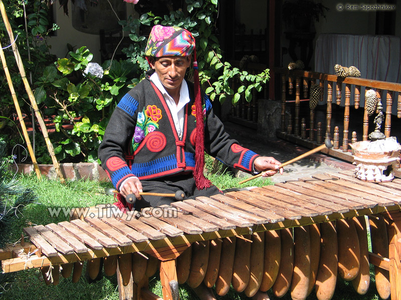 Tiwy.com - The sounds of the folk instrument marimba remind us of ...