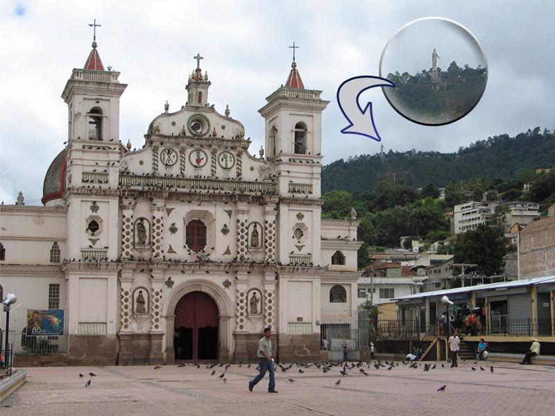 ... Honduras, 2007 > Iglesia Virgen de los Dolores > Plaza de Los Dolores