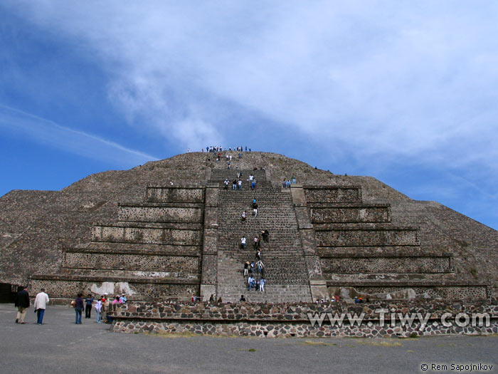 Teotihuacan Piramide De La Luna