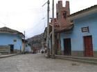 Центр посёлка Чавин-де-Уантар